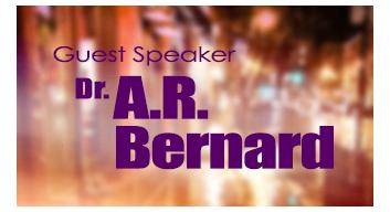 Guest Speaker Dr. A.R. Benard